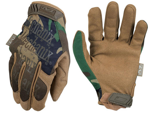 Mechanix Original Tactical Gloves (Color: Woodland)