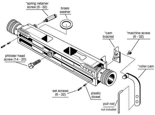 Charge Bar W/Powder Baffle (Lead&Steel) MUL-DYDS