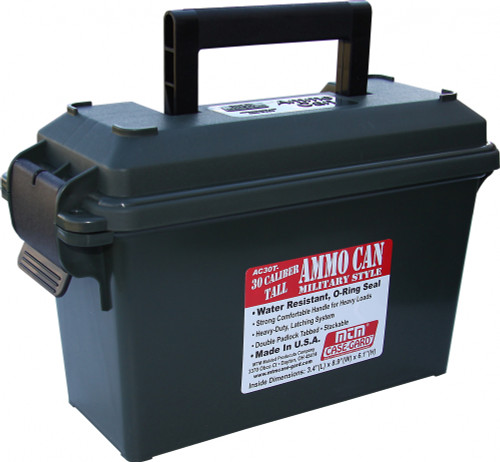 30 Cal Ammo Can Tall Forest Green