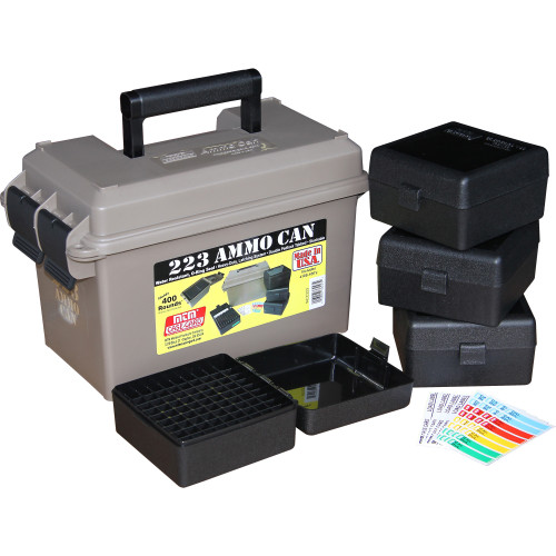 223 Ammo Can W/4 RS100s Dark Earth