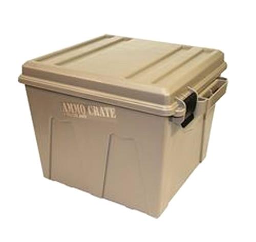 "Ammo Crate Utility Box 19""X15.7""X13.4"" Dark Earth"