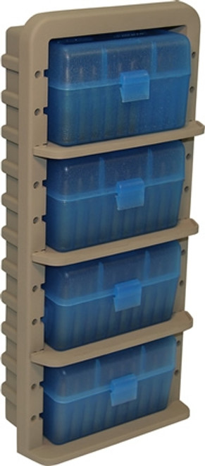 Ammo Rack W/4 RS-50-24 Ammo Boxes