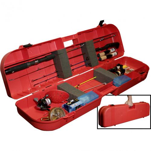 Ice Fishing Rod Box Red