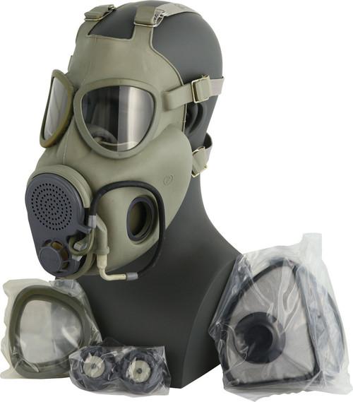 Czech M10M Gas Mask w/Filter & Drinking Tube