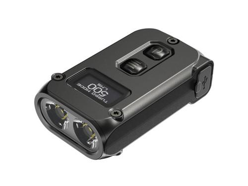 NiteCore TINI 2 500 Lumen USB-C Rechargeable Dual Core Rechargeable Keychain Flashlight