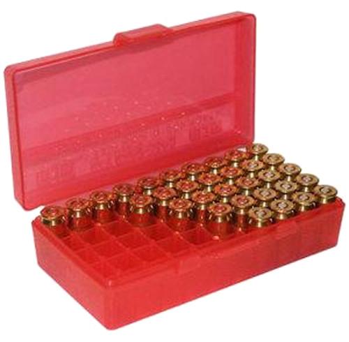 Pistol Fliptop 50Rd 44 CLR-Red