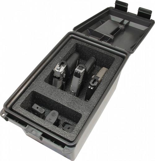 Tactical Pistol Handgun Case 3 Gun