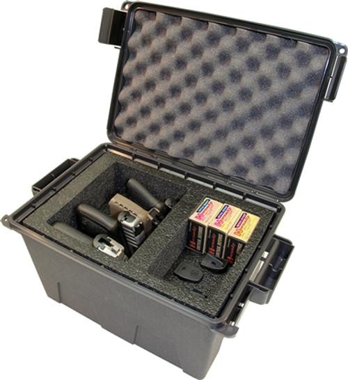 Tactical Pistol Handgun Case 4 Gun