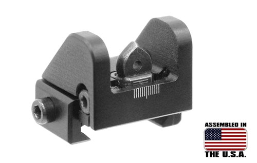 UTG Sub-Compact Aperture ADJ Rear Sight