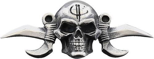 Menuki Small Reaper Silver