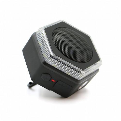 Bluetooth Speaker/Light HEX BLK