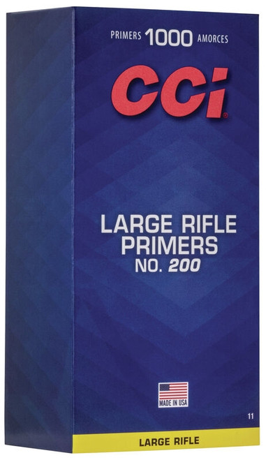 200 Large Rifle Primers (Per/1000)