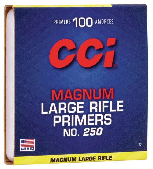 250 Large Rifle Magnum Primers (Per/1000)