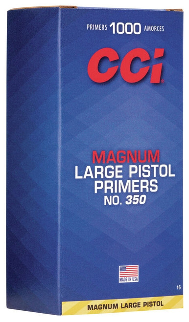 350 Large Pistol Magnum Primers (Per/1000)