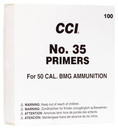 35 Mil Spec 50Bmg Primers Per/100