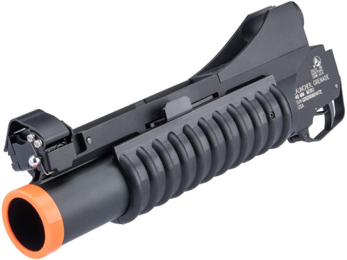 Cybergun Metal Colt Licensed M203 40mm Grenade Launcher for M4 / M16 Series Airsoft Rifles (Black)