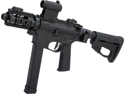 ARES M45X-S Airsoft AEG SMG with Folding Collapsible Stock (Color: Black)