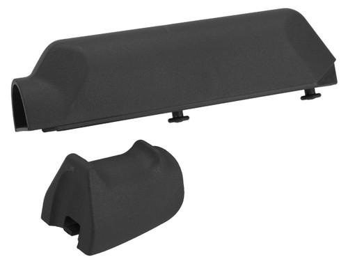 Pistol Grip and Cheek Pad Riser Set for Ameoba Striker S1 Airsoft Sniper Rifles (Color: Black)