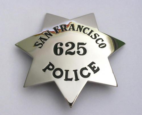 San Fancisco Police 625 Badge