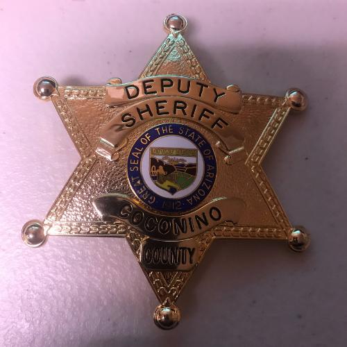 Deputy Sheriff Coconino County Arizona Badge