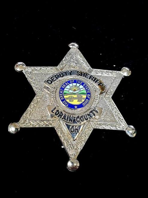 Deputy Sheriff Lorain County OH Badge