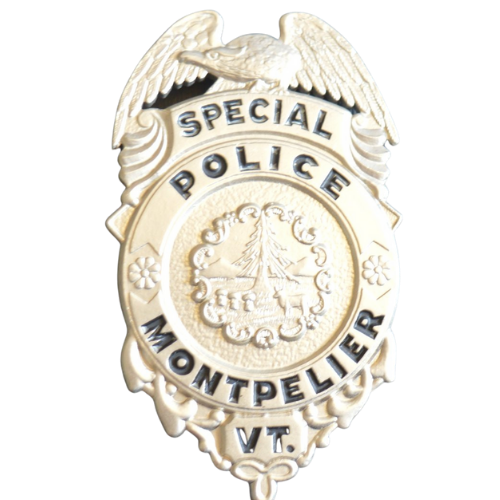 Special Police Montpelier VT Badge