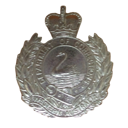 Western Australia Department Of Corrections Badge