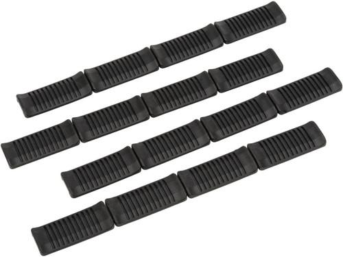 ARES PVC M-Lok Rail Covers (Color: Black)