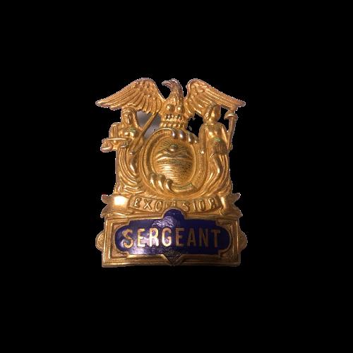 Excelsior Sergeant badge