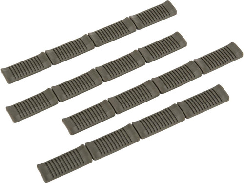 ARES PVC M-Lok Rail Covers (Color: OD Green)