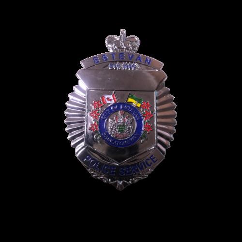 Estevan Police Service Cap Badge