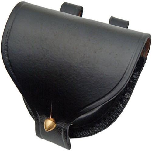 Plain Leather Cap Pouch
