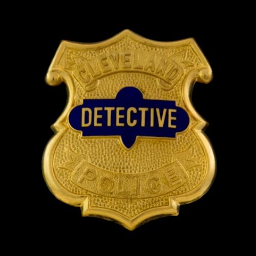 Cleveland Police Detective Badge