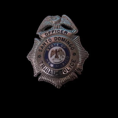 Santo Domingo Tribal Police Officer Badge