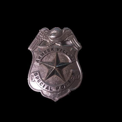 Ahmeek Village Special Police Badge