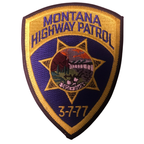 Montana Highway Patrol Patch