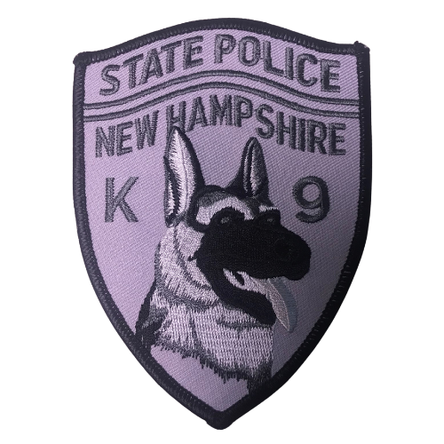 State Police New Hampshire K-9 Patch