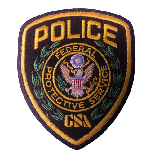 Police Federal Protective Service Patch