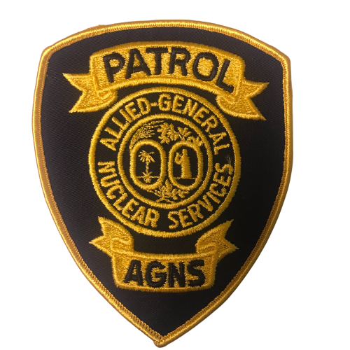 Allied General Nuclear Services Patrol Patch