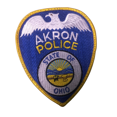 Akron Police Patch
