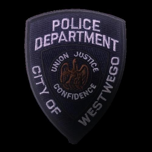 Police Department City of WestWego Dark