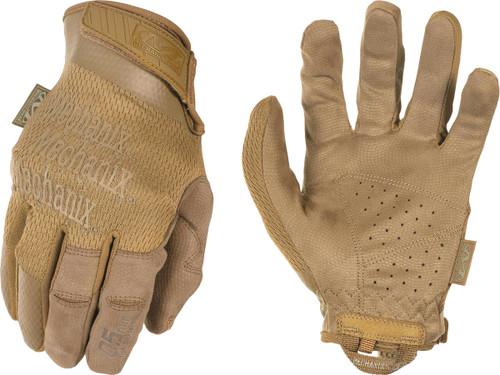 Mechanix Wear Hi-Dexterity 0.5 Gloves (Color: Coyote)
