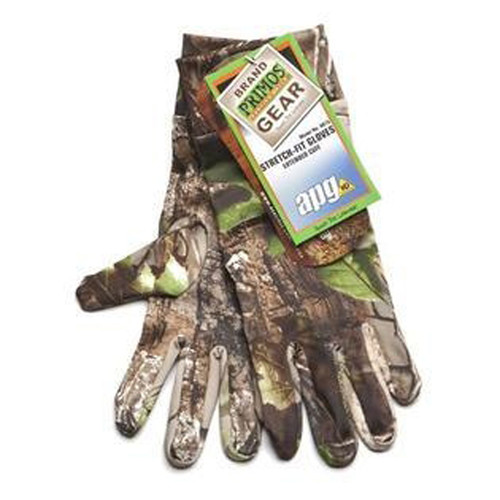 Stretch-Fit Gloves W/Sure-Grip Realtree APG HD