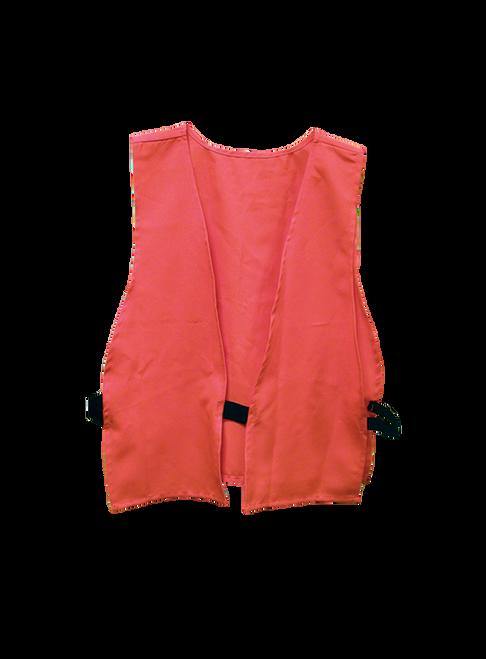 Blaze Orange Hunting Vest Adult Size