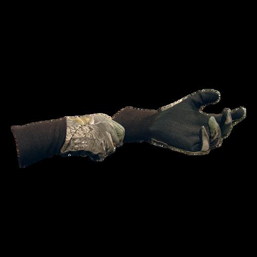 Cotton Gloves Mobu W/Sure Grip & Ext Cuff