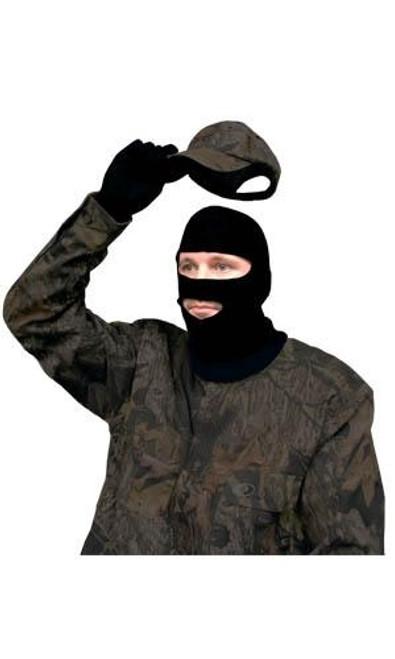 Stretch Fit Face Mask Full Hood Black
