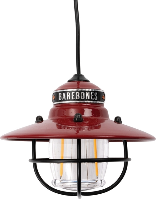 Edison Pendant Light Red