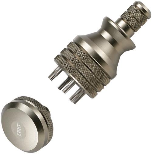 6 Bit Driver Tool Silver