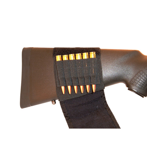 Buttstock Rifle Shell Holder W/Flap