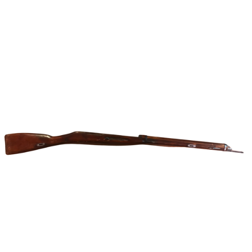 Mosin Nagant Wood Chassis Kit with Hardware and Cleaning rod